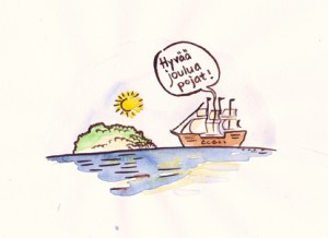 Mistä Joulusaari sai nimensä?