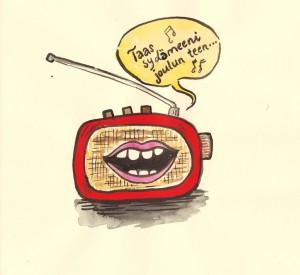 Kuka tuottaa Jouluradiota, joka soi tänä vuonna esimerkiksi Turun seudulla taajuudella 93,8 MHz?