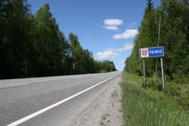 Isolle metsäsaarekkeelle, jonne tuulivoimaloita havitellaan, johtaa 110-tieltä runsaasti käytetty yksityistie, vaikka alueella ei ole asutusta. Alueella on tehty runsaasti metsätöitä.