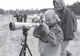 Nummenpään koulussa vietettiin luontoviikkoa toukokuussa 1994.