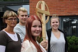 Merja Ainasoja on ollut päättämässä seurakunnan asioista jo silloin, kun Nuorten näköinen seurakunta -listan ehdokkaat olivat 2–3-vuotiaita. Jasper Saarisen, Ilona Lehtisen ja Linda Kolehmaisen vaaliteemoina ovat nuorisotila, sosiaalinen media sekä nuorten vapaaehtoistyö.