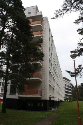 Alvar Aallon suunnittelema Paimion parantola.