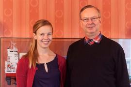 Laura Langh-Lagerlöf seuraa vuodenvaihteessa isäänsä Hans Langhia varustamon toimitusjohtajaksi.