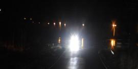 Eilen illallakin oli todella pimeää liikenteessä. Kuva on aihekuva.