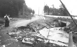 Kevytväylä Pukkilanojan yli Piikkiössä -81.