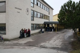 Yläkoulun sisäilmaongelmista on valitettu pitkään.