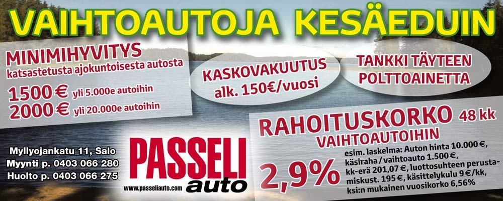 Passeli Auto – 31.7.