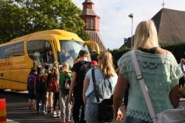 Remontin vuoksi 48 viitos- ja kuutosluokkalaista oppilasta viedään PAKK:in tiloihin bussilla.