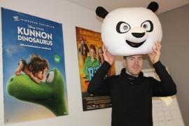 Pukeutuukohan Henry Erkkilä perjantai-illalla Kung-Fu Pandaksi?