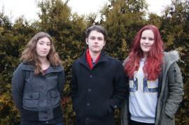 Aina-Ilona, Niko ja Maria saivat tunnustuksen Avartti-harrastuksestaan