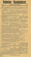 Kunnallislehti siirtyi toisessa numerossaan käyttämään fraktuura-tekstityyppiä.