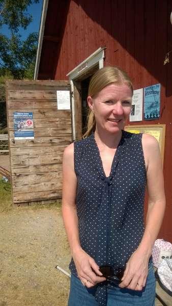Satu Numminen on asunut Seglingen saarella jo 20 vuotta.
