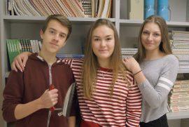 Eemeli Mäkelä, Mimosa Ajalin ja Olga Elonen kertoivat menevänsä tiistaina Turkuun paikalliskisojen palkintojenjakoon, mutta valmistautuvansa myös seuraavaan koitokseen, eli Paraisten aluekilpailuihin