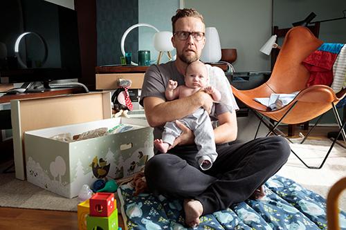 Yösyöttö-elokuvan pääosassa on Petteri Summanen. Kuva: Nordisk Film.