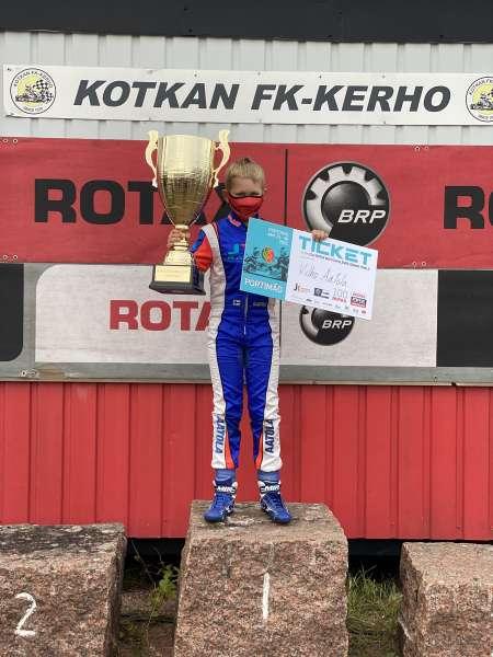 Vilho Aatola karting-sarjan maailmanfinaaliin